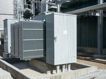 Oleju ochłodzony transformator Obraz Royalty Free