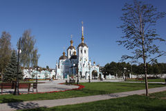 Oleksander's church. View of Oleksanders church in Kharkov city Stock Images