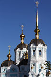 Oleksander's church. View of Oleksanders church in Kharkov city Royalty Free Stock Image