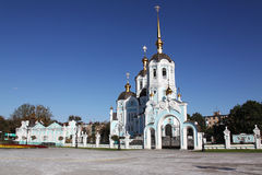 Oleksander's church. View of Oleksanders church in Kharkov city Royalty Free Stock Photography
