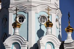 Oleksander's church. View of Oleksanders church in Kharkov city Stock Photography