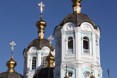 Oleksander's church. View of Oleksanders church in Kharkov city Stock Photos