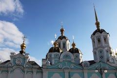 Oleksander's church. View of Oleksanders church in Kharkov city Stock Photo