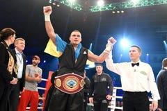 Oleksandr Usyk, WBO洲际的次重量级冠军 图库摄影
