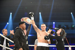 Oleksandr Usyk, WBO洲际的次重量级冠军 免版税库存照片