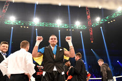 Oleksandr Usyk, WBO Inter-Continental cruiserweight champion Royalty Free Stock Photography