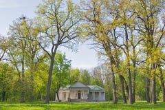 Oleksandriiapark in Bila Tserkva, de Oekraïne Stock Afbeelding
