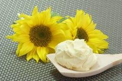 Oleo of Sunflowers Stock Image