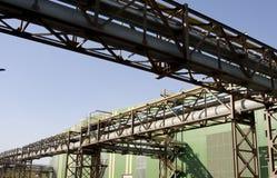 Oleoduto industrial Imagens de Stock