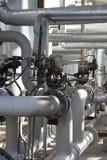 Oleoduto industrial Fotos de Stock Royalty Free