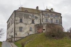 Olesko城堡,西乌克兰 库存图片