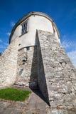 Olesko,乌克兰- 2017年5月02日:对历史的城堡的看法在Olesko,利沃夫州地区,乌克兰 免版税库存照片