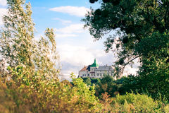Olesko Castle - 14th century. Royalty Free Stock Photography