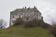 Olesko castle museum in Ukraine Stock Image