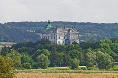Olesko castle in Ukraine Royalty Free Stock Images