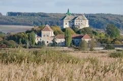 Olesko castle in Ukraine Stock Images