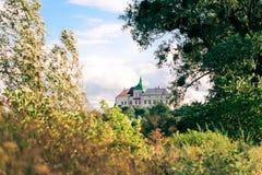 Olesko Schloss - 14 Jahrhundert. Lizenzfreies Stockbild