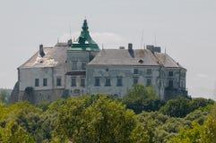 Olesko slott Arkivbild