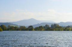 Olesna lake Stock Image
