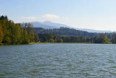 Olesna lake Stock Photo