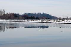 Olesna lake Stock Photography