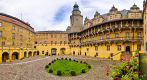 Olesnica公爵城堡- Olesnica,波兰 免版税库存图片