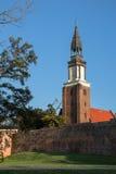 Olesnica, die orthodoxe Kirche im Herbst Stockbilder