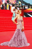 Olesya Sudzilovskaya at Moscow Film Festival Royalty Free Stock Photo