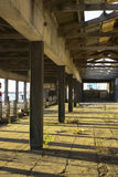 Старая фабрика Стоковая Фотография RF