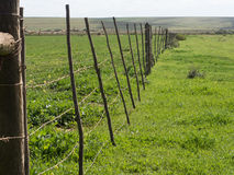 Olf farm fence Royalty Free Stock Photos
