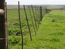 Olf gospodarstwa rolnego ogrodzenie Zdjęcia Royalty Free
