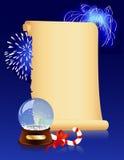Olfashioned Christmas background Stock Photo