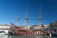 Olg galleon royalty free stock images