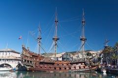 Olg galleon Lizenzfreie Stockbilder