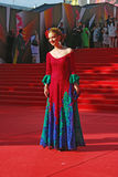 Olga Budina at Moscow Film Festival Stock Image