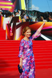 Olga Budina at Moscow Film Festival Royalty Free Stock Photo