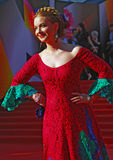 Olga Budina at Moscow Film Festival Royalty Free Stock Image