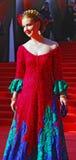 Olga Budina at Moscow Film Festival Stock Photo