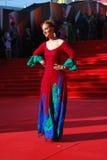 Olga Budina at Moscow Film Festival Royalty Free Stock Image