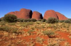 Olga, Centraal Australië Stock Fotografie