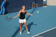 Olga Govortsova (BLR) at the China Open 2009. Stock Image