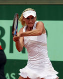 Olga Govortsova (BLR) at Roland Garros 2011 Stock Photos