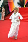 Olga Khohlova at Moscow Film Festival Royalty Free Stock Photography