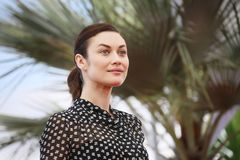 Olga Kurylenko attends `The Man Who Killed Don Quixote`. Photocall during the 71st Cannes Festival at Palais on May 19, 2018 in Cannes, France Stock Images