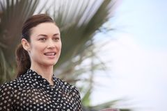 Olga Kurylenko attends `The Man Who Killed Don Quixote`. Photocall during the 71st Cannes Festival at Palais on May 19, 2018 in Cannes, France Royalty Free Stock Photo