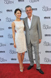 Olga Kurylenko & Danny Huston Royalty Free Stock Image