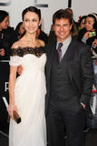 Olga Kurylenko,Tom Cruise Stock Photography