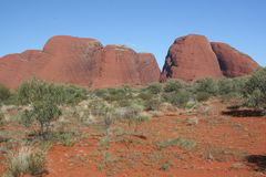 Olga Mounts. Red Center Australia Royalty Free Stock Images