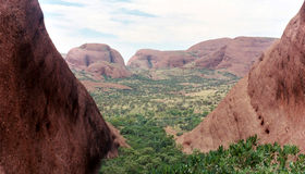 The Olgas. Ulura National Park - Australia Stock Image