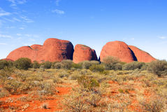 The Olgas Stock Photo